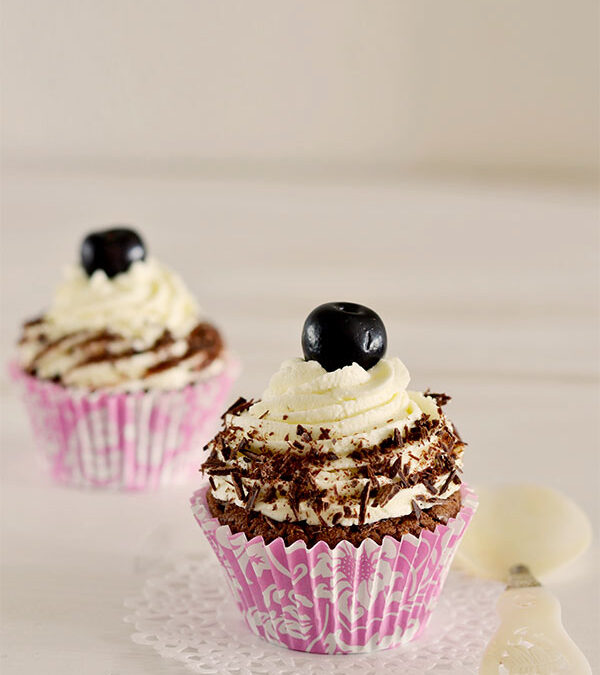 cupcakes selva negra