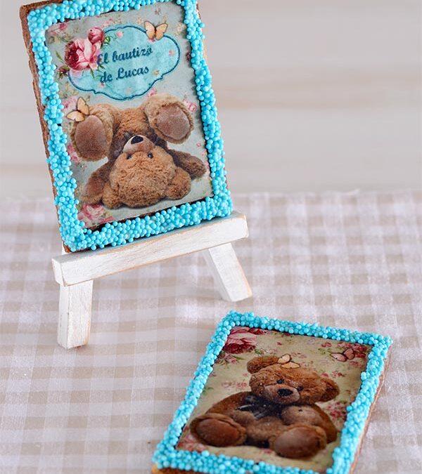 galletas souvenir para bautizo